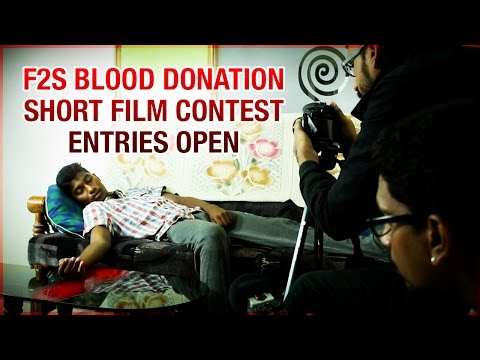 Voluntary Blood Donation | F2S National Short Film Competition | Entries Open till Aug 31st