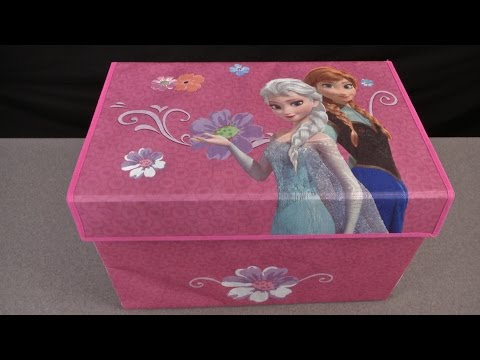 Disney Frozen Fabric Toy Box from Delta Children's Products
