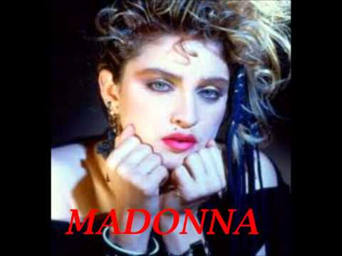MADONA - CHICA MATERIAL - Los  80´s
