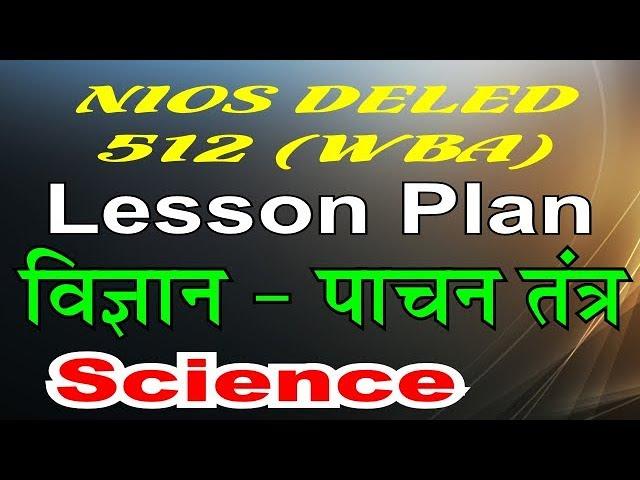 WBA 512 Lesson Plan on Science