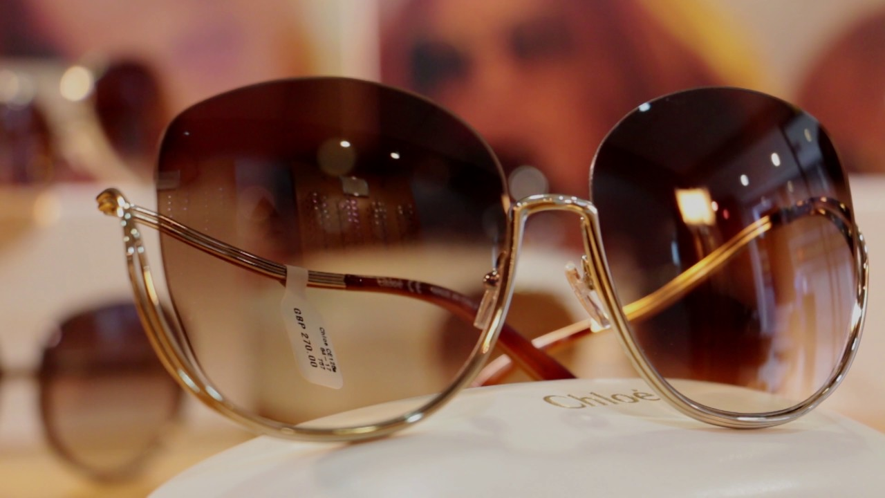 edb5f3722e2f Chloe SS17 Arrives at Silverberg Opticians - YouTube
