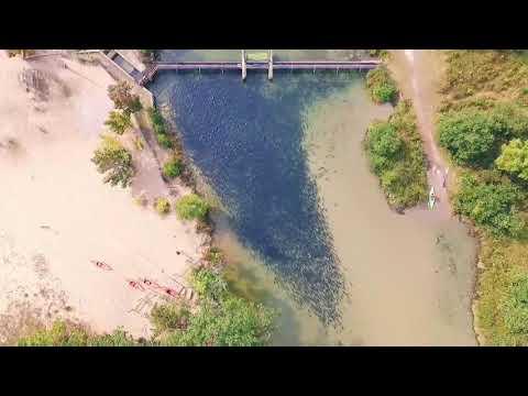 Kayaking with thousands of Coho Salmon