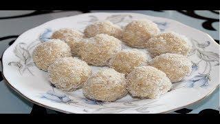 Instant coconut ladoo-Coconut ladoo-Diwali sweets recipe-Quick sweet recipes-Nariyal ke ladoo