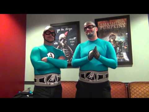 The Aquabats! Interview! The MC Bat Commander! and Jimmy the Robot!
