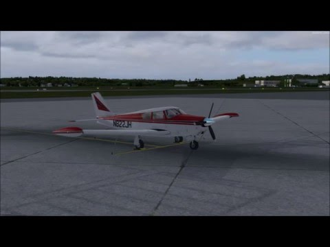 VFR Flight KSLE to KPDX | Radio Procedures | A2A Comanche 250