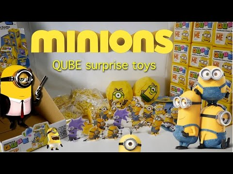 Minions amazing surprise toys | Lots of fun.