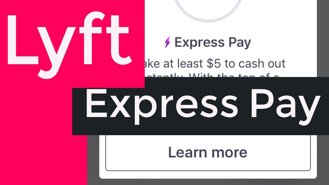 Lyft Express Pay! Get Your Money Sooner!