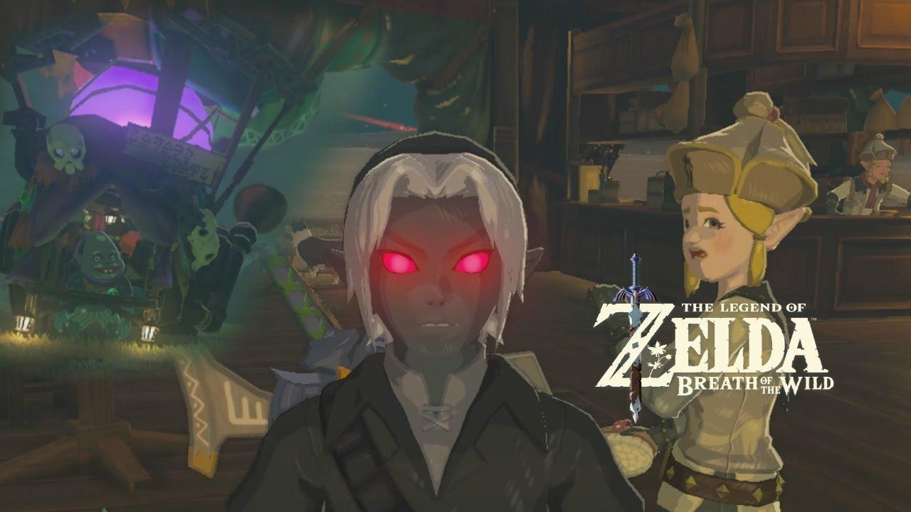 Breath Of The Wild Dark Link >> Breath Of The Wild Dark Link Youtube