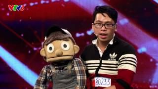 Vietnam's Got Talent 2016 - TẬP 5 - Nói tiếng bụng - Nguyễn Trần Hoàng Bảo