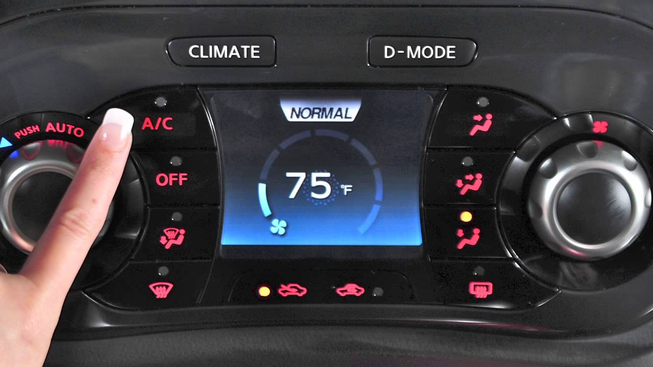 Automatic climate control system (if equipped)