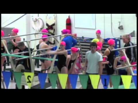 Midland High Girls vs H. H. Dow High Girls Swimming - October 23, 2014