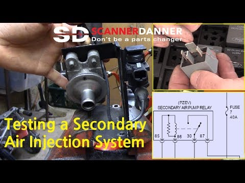 2009 Ford Fusion Secondary Air Injection System Fault P0410, P0491