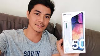 Samsung A50 Unboxing, CAMERA TEST Sample Photo & Video | Zeibiz