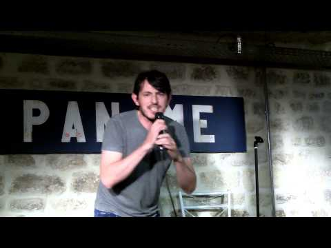 ANTONELLO TAURINO At FRENCH FRIED TV, Paname Art Cafè Comedy Club, PARIS, 10 09 2013