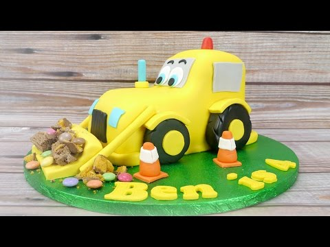 How To Make A Digger Cake