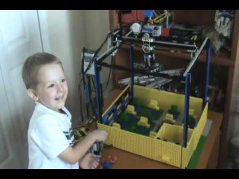 Lego Skill Crane: The Claw - YouTube