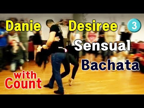 50. Bachata Workshop with Count. 1-3 Daniel & Desiree 2014 workshop. basic step pattern...