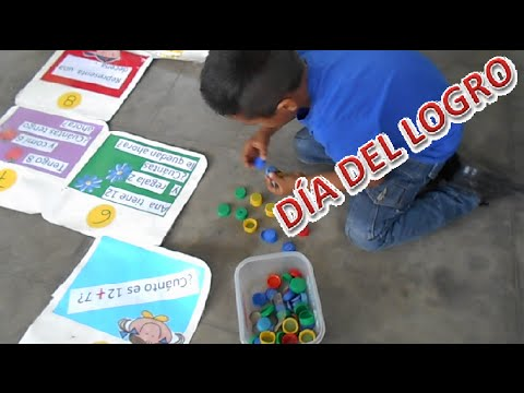 DÍA DEL LOGRO PRIMARIA 2015 - JUEGO DE MATEMÁTICA con chapas - YouTube