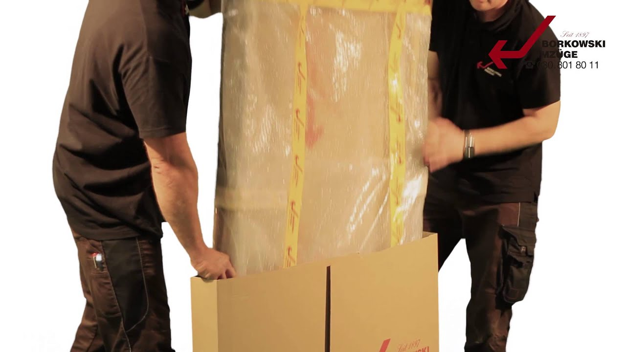 Borkowski Umzüge spot borkowski bilder einpacken produziert bei all in one enterprise