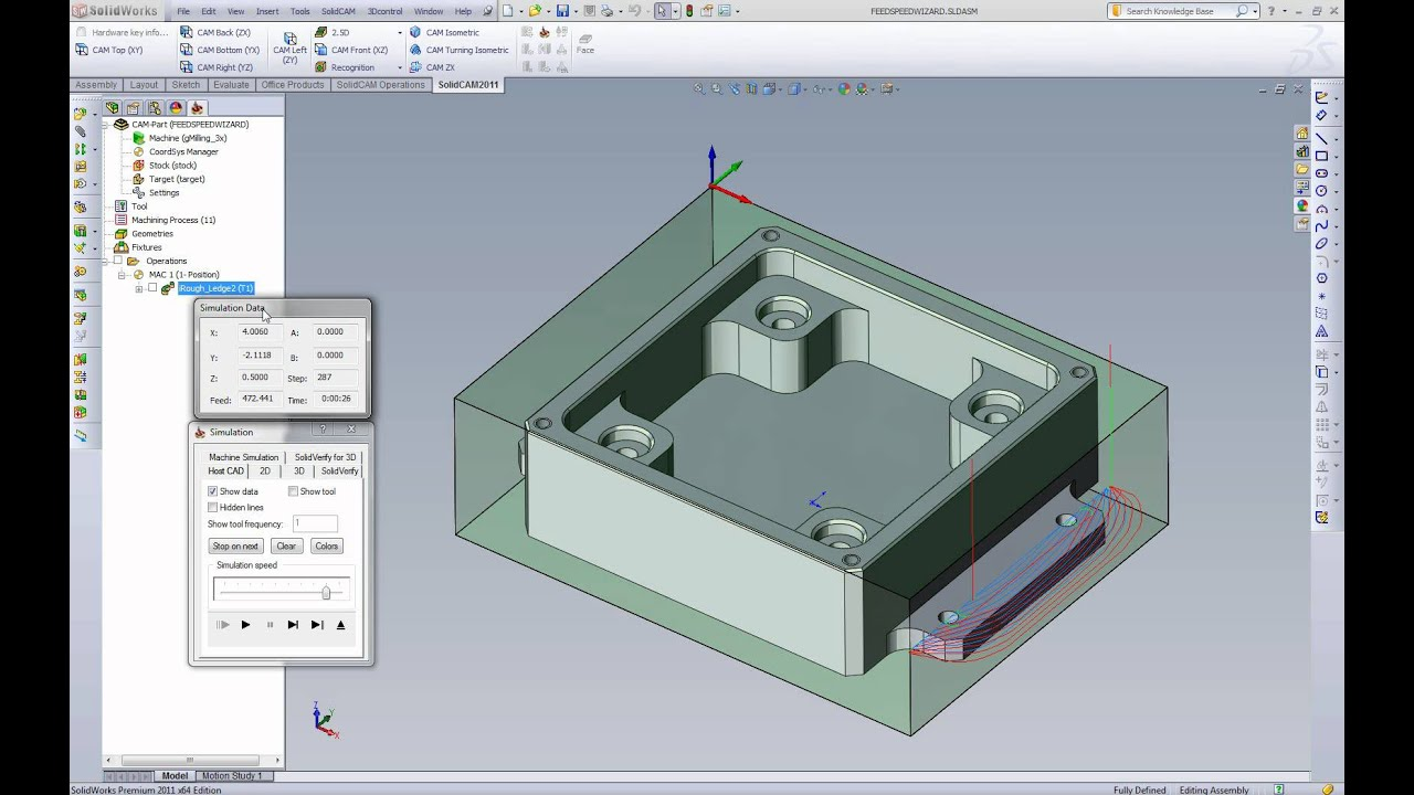 SolidCAM iMachining: A Wizard At Higher Efficiency and Reduced