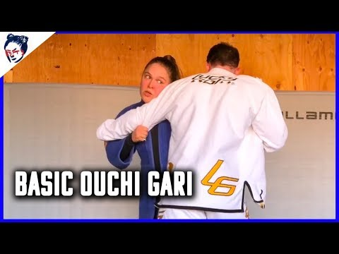 How to do an Ouchi Gari Grip in Judo | Ronda Rousey's Dojo #9