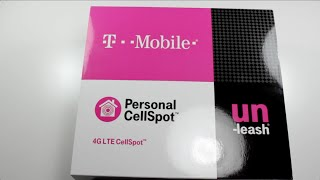 4G LTE CellSpot Unboxing and Review