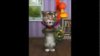 "Talking Tom Singing ""I AM A GUMMY BEAR"""