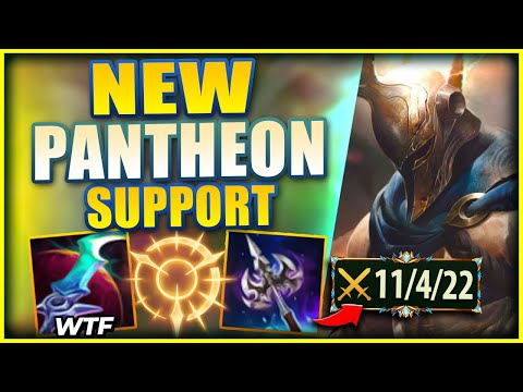 PANTHEON IS NOW ONE OF THE MOST BRUTAL SUPPORT PICKS IN SEASON 11! - League of Legends