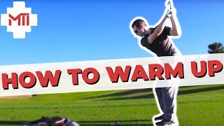 Golf Tips - How To Warm Up Properly Before Tournament - Part 2