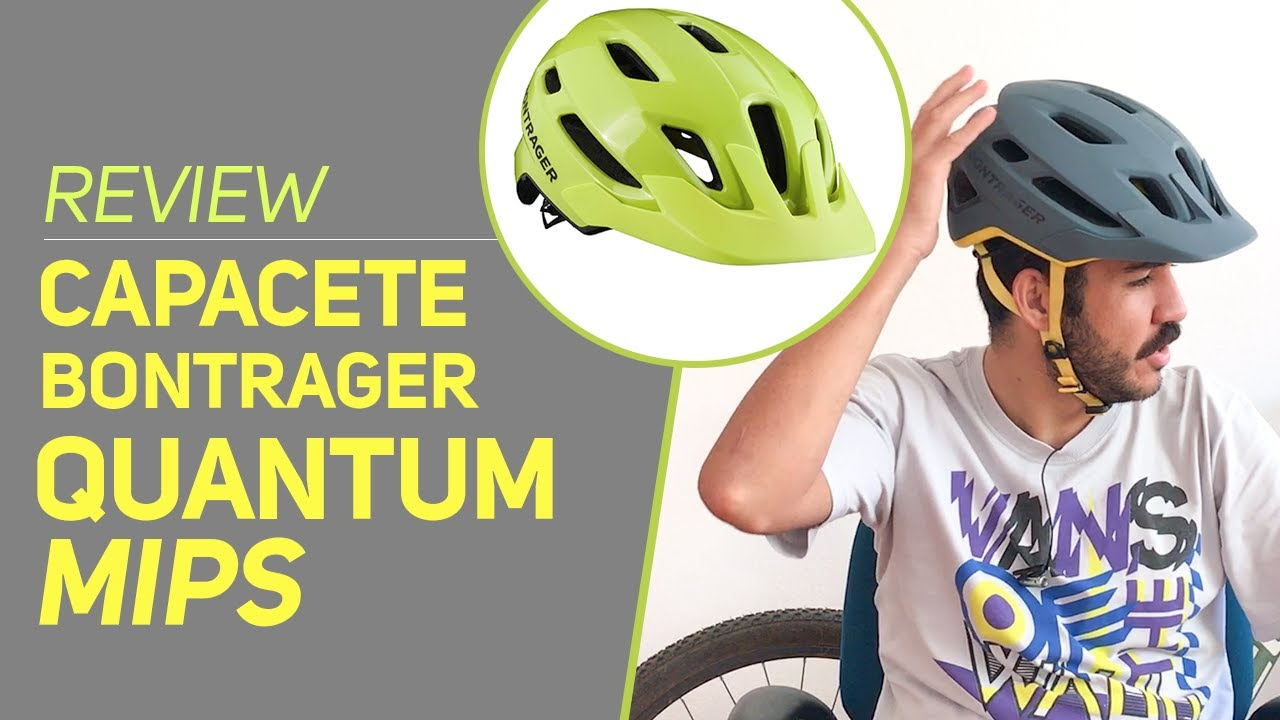 great quality really comfortable coupon code Review e detalhes do capacete Bontrager Quantum MIPS - Revista ...