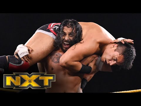 NXT Cruiserweight Champion Santos Escobar vs. Jake Atlas – Non-Title Match: WWE NXT, June 24, 2020