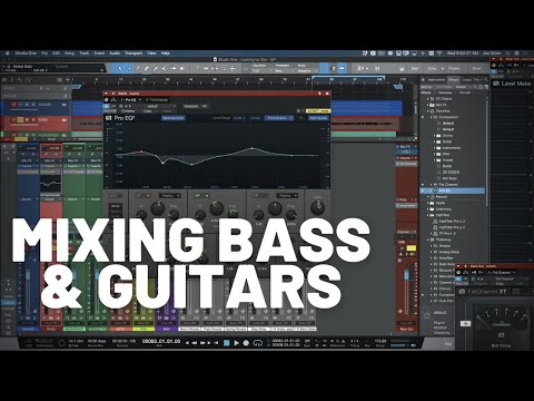 Mixing Bass and Guitars | #MixTogether S4E4