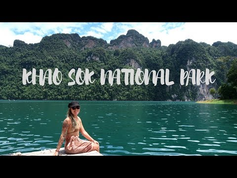 WHAT IS LIFE!? KHAO SOK NATIONAL PARK // EPIC TURQUOISE LAKE ADVENTURES