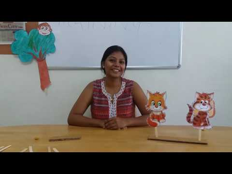 Story Telling : Two foolish Cats and Smart Monkey