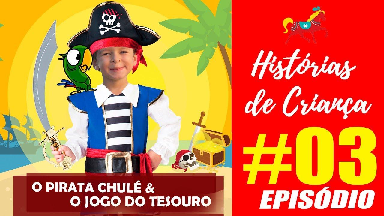 Episódio 03  Historias de Crianca Aventura Pirata