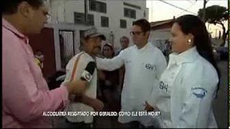 Momentos Entrevista no Balanço Geral - Internação e Recuperação de Valdir