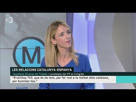 Cayetana: 'TV3 es puerilidad y grosería' i Lídia Heredia respon contundent