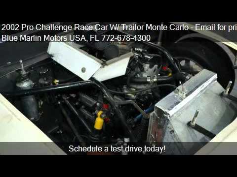 2002 Pro Challenge Race Car W Trailor Monte Carlo For Sale Youtube