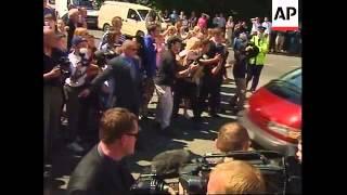 IRELAND: DAVID BECKHAM & VICTORIA ADAMS WEDDING DAY (V)