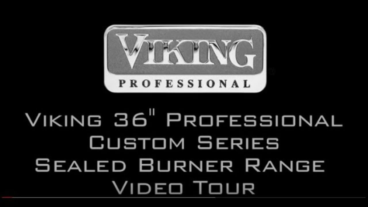 Viking 36 Professional Custom Series Range Video Tour Vgcc5364gss You