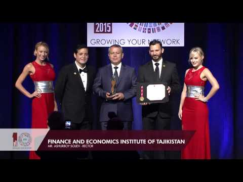 BIZZ AMERICAS 2015 - FINANCE AND ECONOMICS INSTITUTE OF TAJIKISTAN