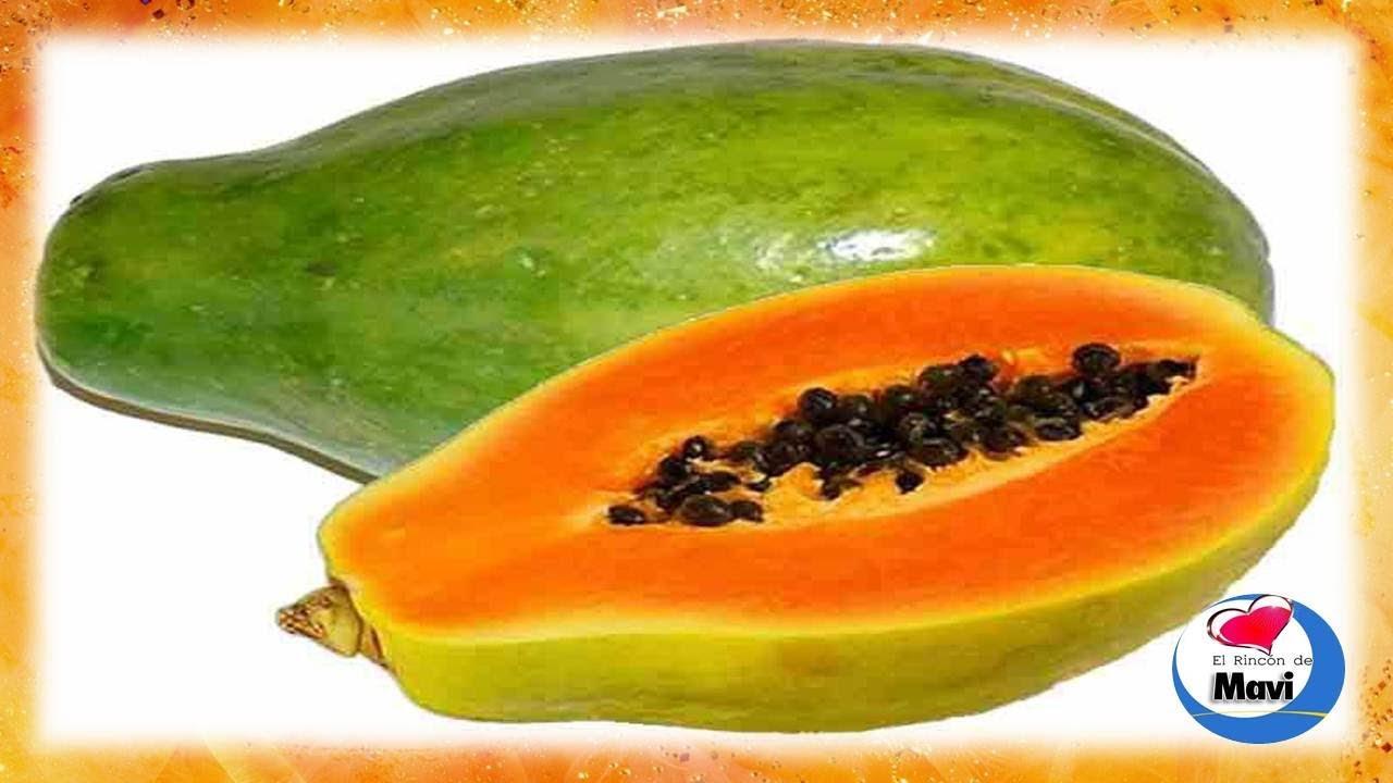 papaya sus propiedades curativas