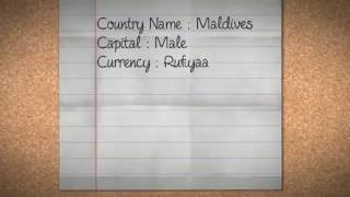 Capitals and Currencies of Asia