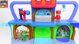 Juguetes de Pj Masks | Base secreta