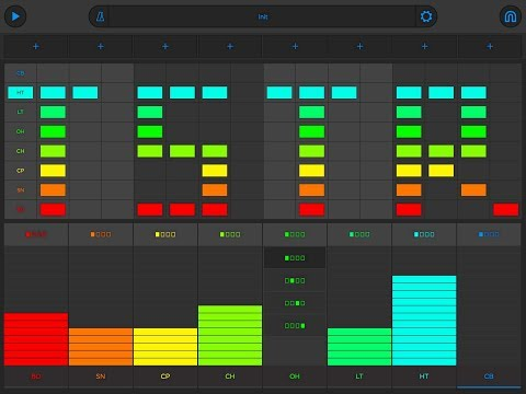 SNAP Drum Machine by Reactable - Demo & Tutorial for the iPad