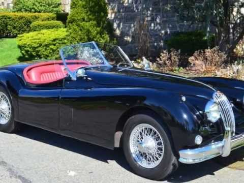 1957 jaguar xk140 roadster 69 500 youtube