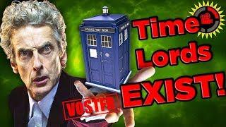 Film Theory VOSTFR - Doctor Who (3/3): Les Seigneurs du Temps EXISTENT !