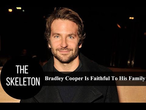 Bradley Cooper Is Faithful To His Family