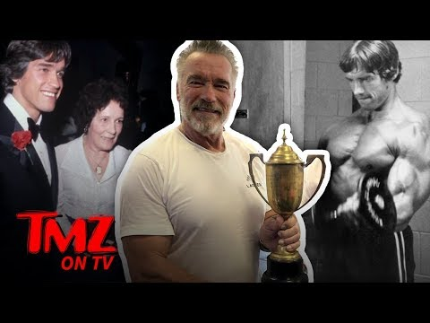 Arnold Schwarzenegger's Mom Gives Away His Most Important Trophy | TMZ TV
