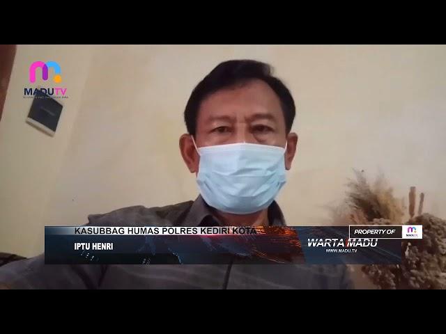 Kediri - Aksi Pencurian HP, Pencuri Terekam Kamera CCTV